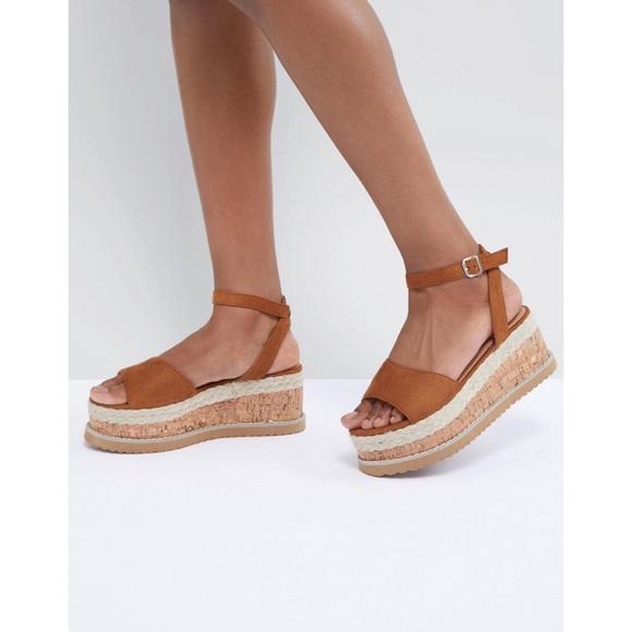 c07d5393c8 Boohoo Shoes | New Asos Platform Espadrille Sandals | Poshmark